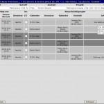 Protokoll der laufenden Terminbearbeitung
