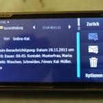 SMS-Benachrichtigung
